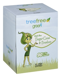 Tree Free Facial Tissue Cube 90 Sheet, 1 Pack